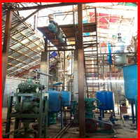 Without any chemicals for Lubrication Oil regeneration machine to recycle waste oil to be base oil
