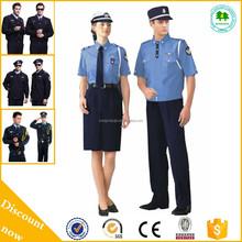 Venta al por mayor uniforme de guardia de seguridad camisas / uniforme de seguridad camisas / uniforme para las cámaras de seguridad guardia con buena calidad