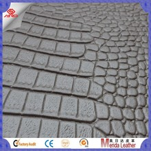 MRD3789 embossed auto seat pvc leather car foam for upholstery