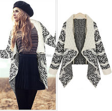 2015 newest style loose sweater coat