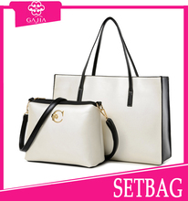 Cheap Chinese bags top selling fashion style handbag 2 pcs sets bag wholesale lady Cheap set bag
