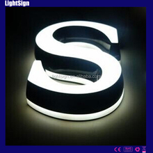 Long life Led channel mini alphabet letter acrylic mini letter -acrylic mini letter
