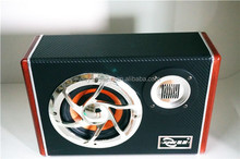 Great quality leather spuare box subwoofer sale with treble