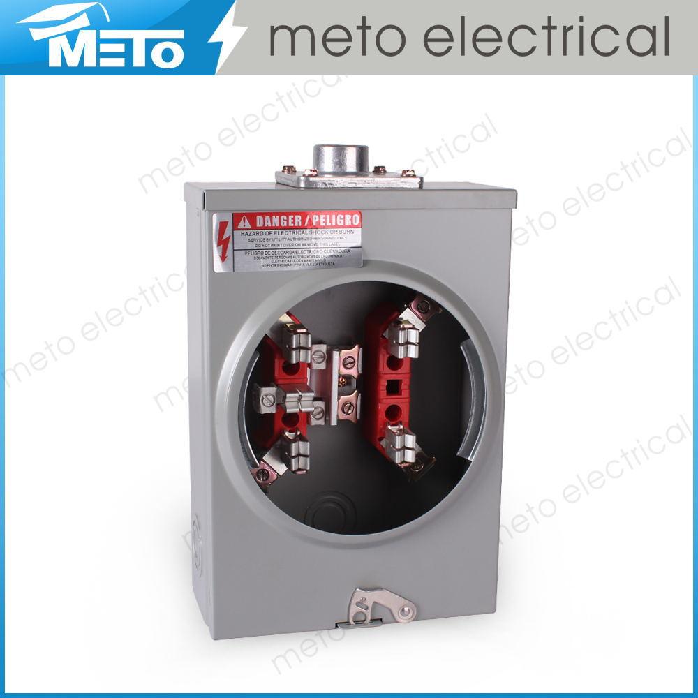 Outdoor Electricity Meter : Waterproof outdoor electric meter box jaw v or