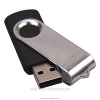 OEM customized swivel 8GB factory price pen drive for promotion gift