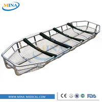MINA-ST047 Stainless steel helicopter rescue Basket Ambulance Stretcher
