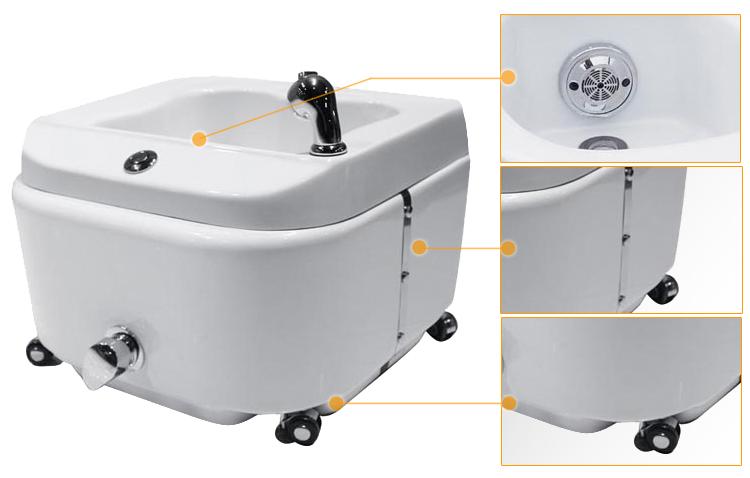 Portable Pedicure Spa Tub For Pedicure Chair Sf01 Buy