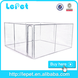 wholesale chain link dog run kennel dog cage