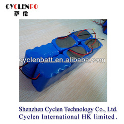 Discount shipping rechargeable 2S4P li ion battery 7.4v for LED