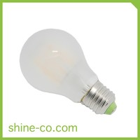 A60 Frosted Glass Lamp Shade LED Filament Lighting Bulb for Worldwide LED Lamp Light Importers
