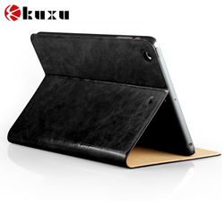 PU Leather Slim Magnetic Front Smart Cover Skin leather Back Case For ipad mini 3 2 1