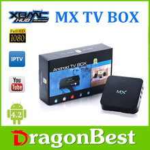 MX tv box android television box dual core AMLOGIC 8726-MX hot selling