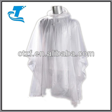 2014 Hot Sale Rainwear PVC Rain Poncho