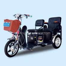 350W48V 3 Wheel Electric Tricycle or Rickshaw for Handicapped
