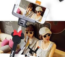 Bluetooth Selfie Rod Unipod Bluetooth Monopod Rod Extendable For Samsung Iphone HTC LG
