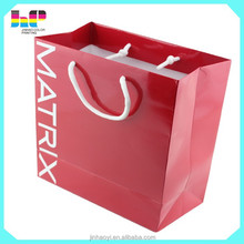 China factory OEM beautiful full color high quality paper bag printing
