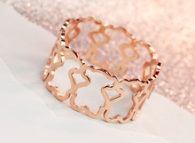 2015 Wholesale stainless steel jewelry, unique rose gold stainless steel bangles at lowest price