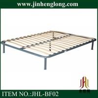steel tube luxury slat bed frame