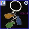 fashion key chain puzzle drink bottles keychain
