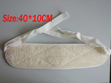 Bath sponge cleaning shower body exfloiating natural egyptian loofah back scrubber