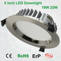 5 inch 25w IP54 SMD CE RoHS SAA approved led downlight wiring diagram