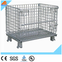 High quality storage welded nesting warehouse roller cage,warehouse roll cages, steel storage container