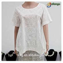 El más reciente bailange 2015 blusas& tapas tipo de producto blusa de encaje de nuevo de encaje de moda blusas para dama