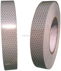 """2"""" X 10' Trailer Conspicuity DOT Reflective Red/White Tape"""
