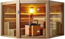 Traditional sauna suit for 10 people sauna room