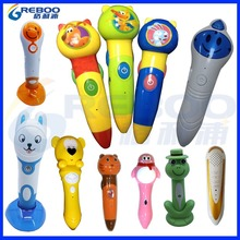 Factory price OID digital reading pen with Russian, Korean, French, English, Arabic, Thai language sound books