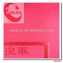 book cover pu leather with colour changed effect