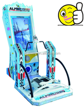 NEW PRODUCT!!! 2015 vivid skiing simulator product coin operated game machine
