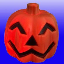 light up plastic pumpkin for halloween