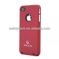 fashion cheap silicon case for iphone 4 case
