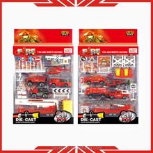 1:87scale fire fighter model car set die cast model toy set for sale