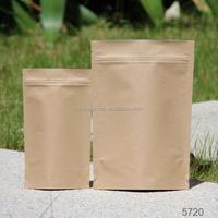 Biodegradable waterproof paper bag for food