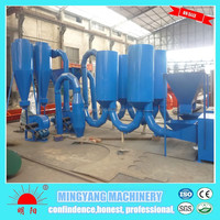 Durable spare parts eco-friendly high output QHJ-6 wood waste drying machine with low price