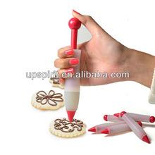 venta al por mayor de china de calidad alimentaria de silicona pastel pluma de decoración