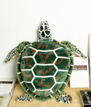 High quality cute and lifelike stuffed plushtoys lifelike Sea Turtle toys new kids toys for 2015
