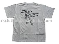 Mens Promotional Printed Cotton T-shirt Cheap T shirts in bulk plain