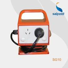 2015 China Factory Portable Battery Industrial Power Socket Outlet SG10