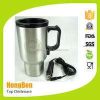 battery powered heated coffee travel mug starbuck vacuum tumbler