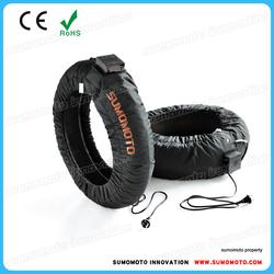 Sumomoto Superbike Pro Racing Tyre Warmer 200/130 mm, digital C6