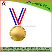 FREE artwork design quality custom Golden Medal 3d Illustration Of Over White