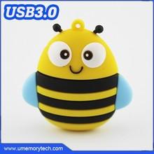 Animal bee shape usb memory sticks cheap manufacture flash usb high quality pen drive