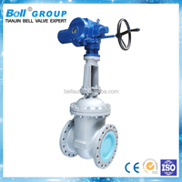 electric actuated stem 6 inch gate valve price and drawing