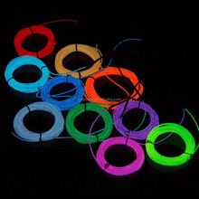 Hot EL Light Cable Animated electroluminescent el wire Holiday Lighting