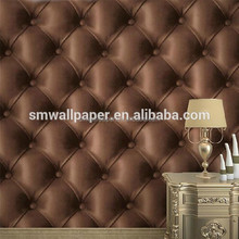 2015 New 3d Textile Dark Color Non-woven Tv/sofa Background Wallpaper,Black And White Wall Paper,0.53m*10m Made In China