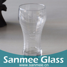 445ml High Quality Printed Pepsi Drinking Glass Manufacturers China Wholesale Cheap Glassware Cups