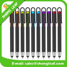 Hot sell custom logo super thin touchscreen crystal usb stylus pens